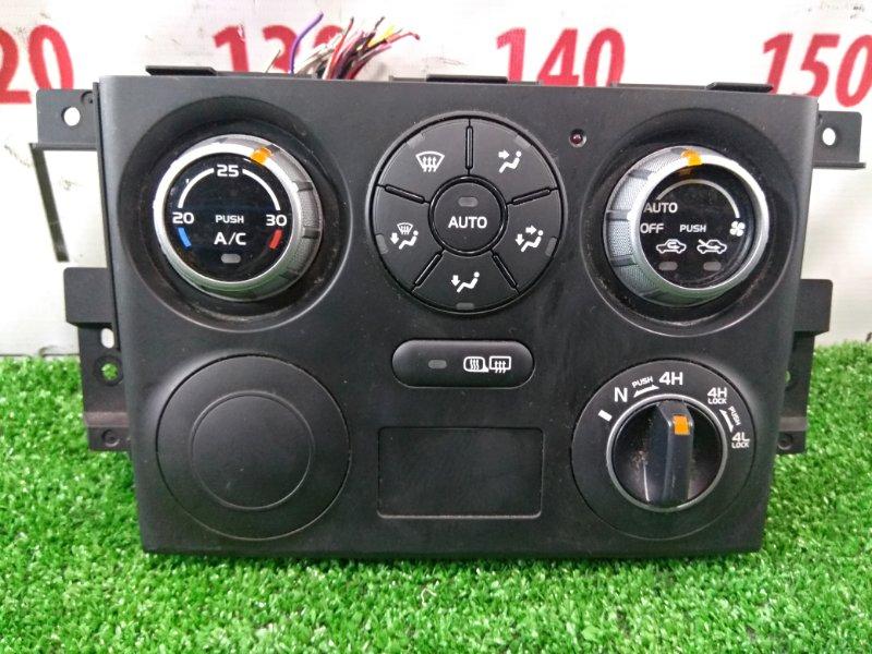 Климат-контроль Suzuki Escudo TD54W J20A 2005 39510-66J41 с облицовкой и переключателем режимов