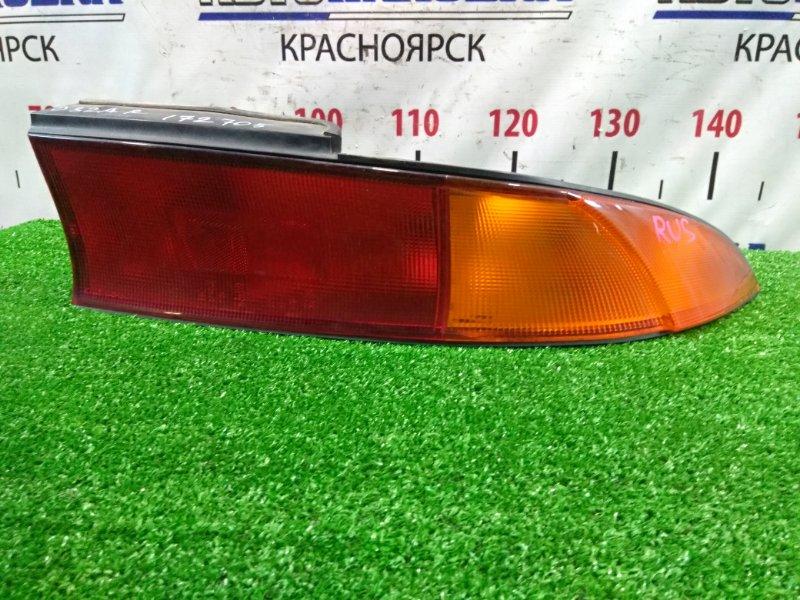 Фонарь задний Mitsubishi Eclipse D32A 4G63T 1994 задний правый 043-1643 043-1643 R красно-оранжевый