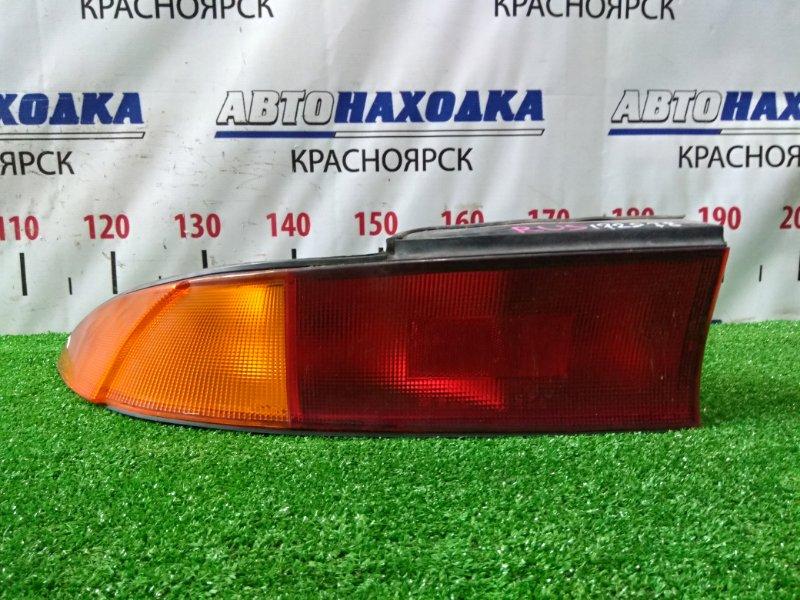 Фонарь задний Mitsubishi Eclipse D32A 4G63T 1994 задний левый 043-1643 043-1643 L красно-оранжевый