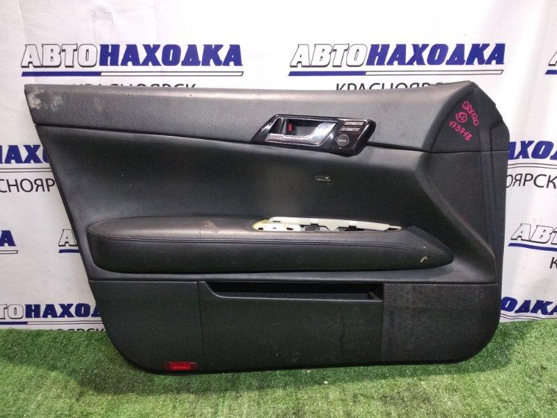 Обшивка двери Toyota Mark X GRX120 4GR-FSE передняя левая с кнопками управления акустики
