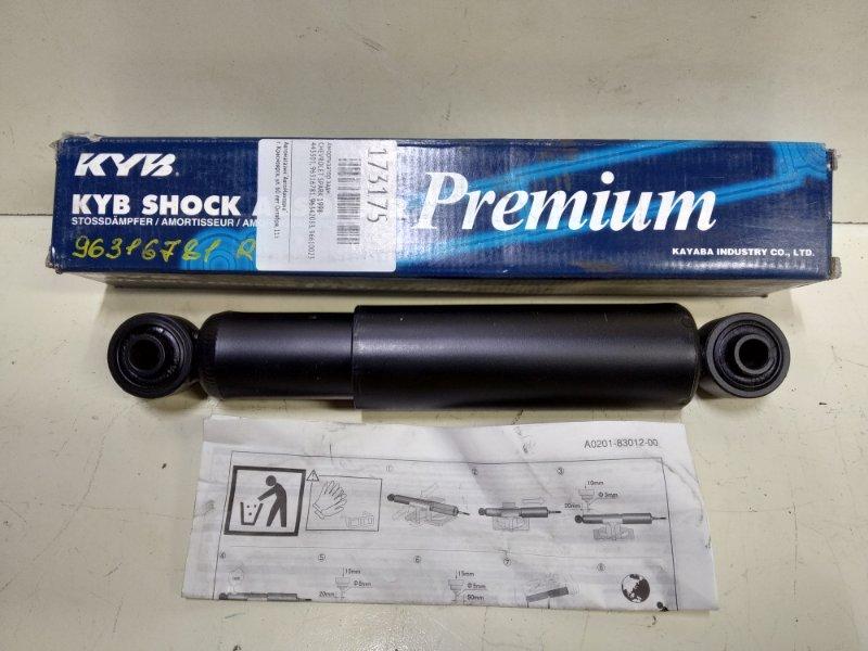 Амортизатор Chevrolet Spark 1998 задний 443301