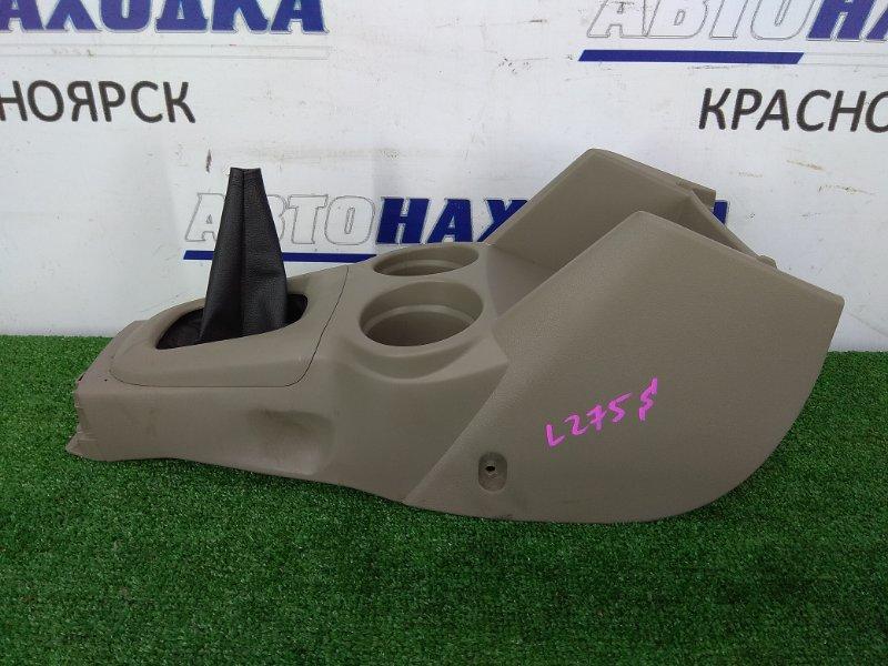 Консоль между сидений Daihatsu Mira L275S KF-VE 2007 58821-B2080 с консолью КПП, с подстаканниками,