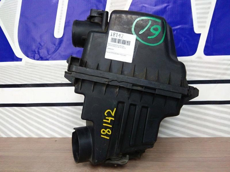 Корпус воздушного фильтра Toyota Funcargo NCP20 2NZ-FE 1999 17700-21050, 17705-21030, 17705-21031 +ДМРВ/К64
