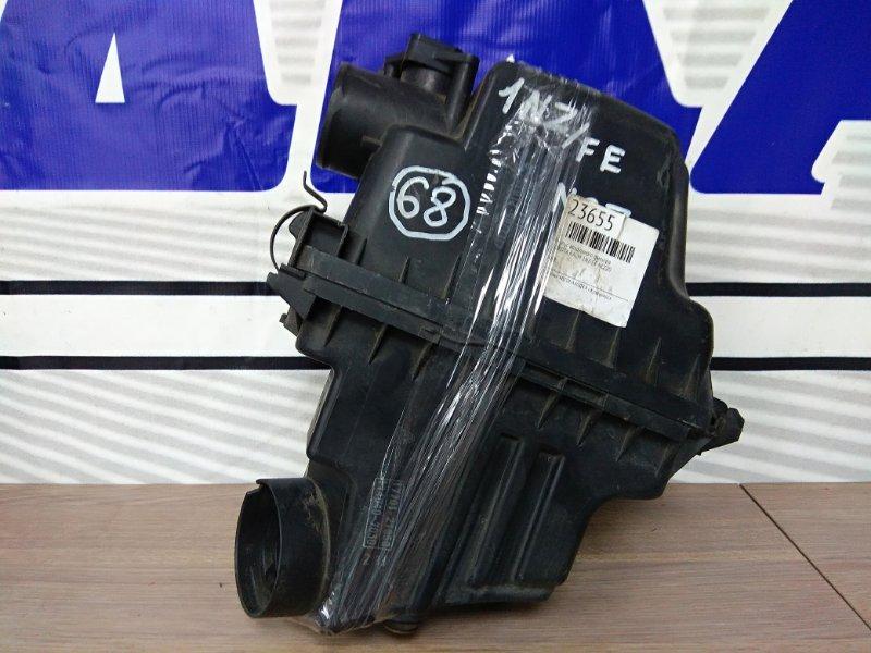Корпус воздушного фильтра Toyota Funcargo NCP20 2NZ-FE 1999 17700-21050, 17705-21030, 17705-21031 + ДМРВ.