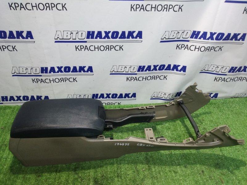 Подлокотник Toyota Mark X GRX120 кожанный