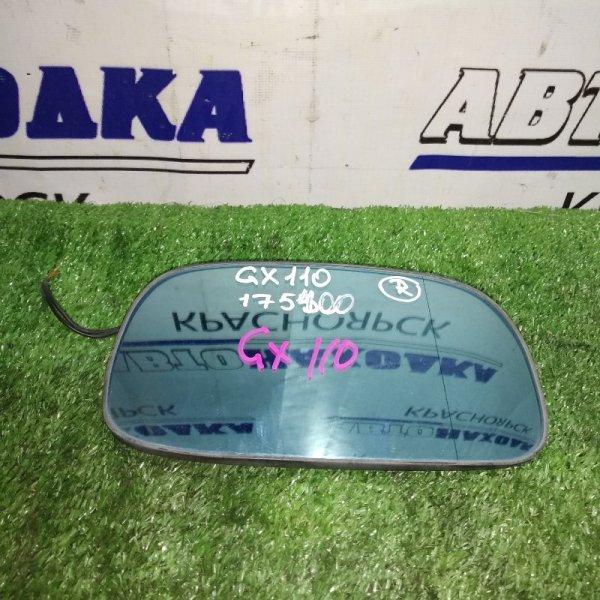Зеркальный элемент Toyota Mark Ii GX110 правый антиблик, подогрев