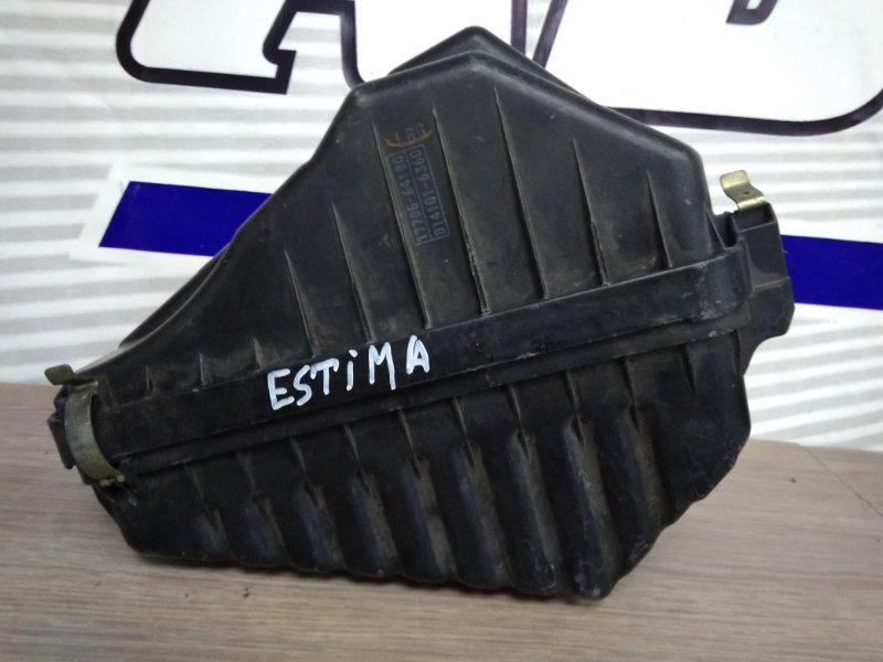 Корпус воздушного фильтра Toyota Estima Emina CXR20G 3C-TE 1990 17705-64180, 17700-64290