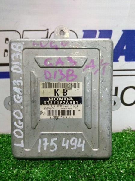 Компьютер Honda Logo GA3 D13B 1996 37820P7A901 Блок управления 37820P7A901