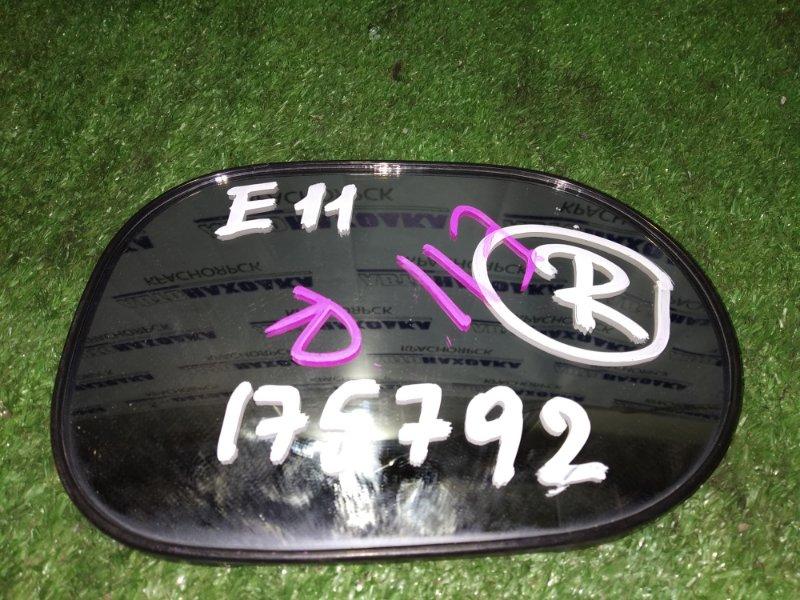 Зеркальный элемент Nissan Note E11 правый