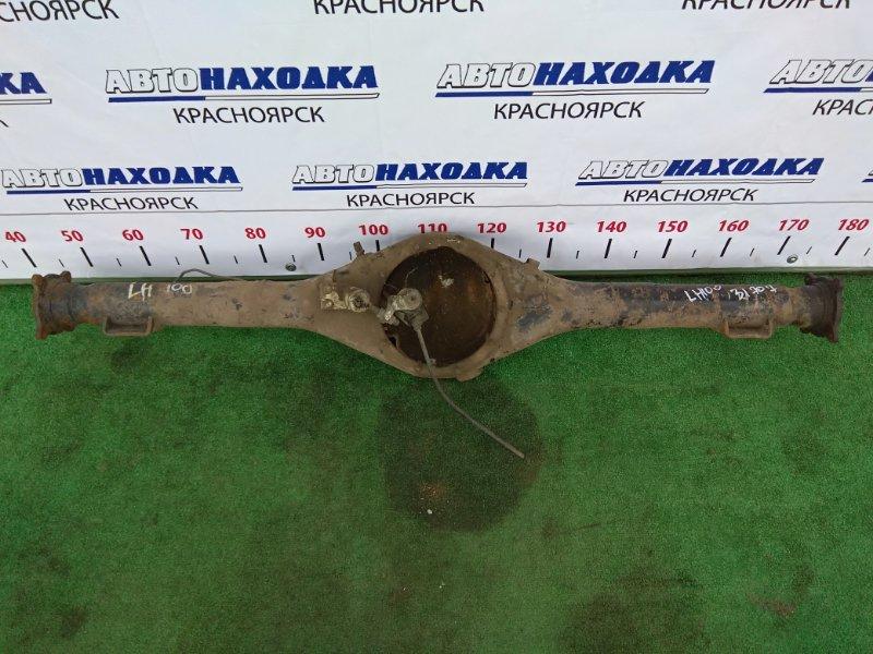 Чулок моста Toyota Hiace LH119V 3L задний под рессоры, не под АБС