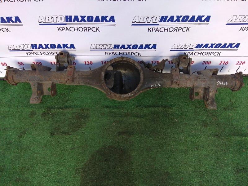 Чулок моста Mitsubishi Delica Space Gear PE8W 4M40T задний не под АБС