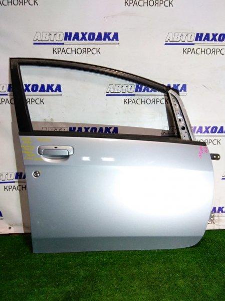 Дверь Mitsubishi I HA1W 3B20 2006 передняя правая FR без стекла, стеклоподъемника и блока