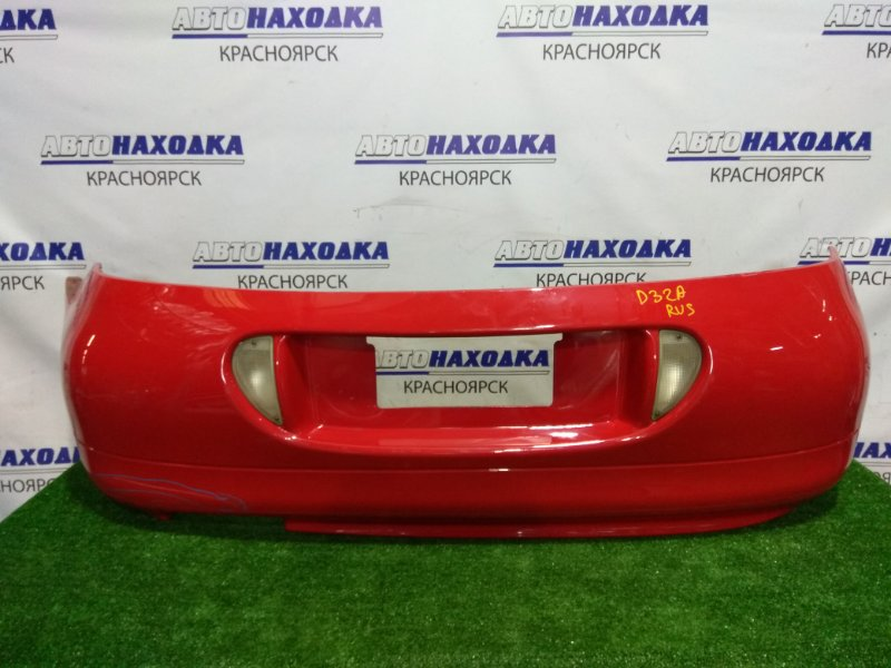 Бампер Mitsubishi Eclipse D32A 4G63T 1994 задний задний, с фонарями заднего хода и подсветкой