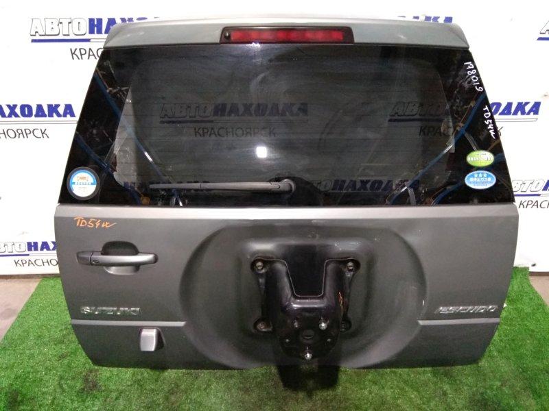 Дверь задняя Suzuki Grand Vitara TD54W J20A 2005 задняя в сборе, цвет ZDL, ХТС, с камерой З/Х