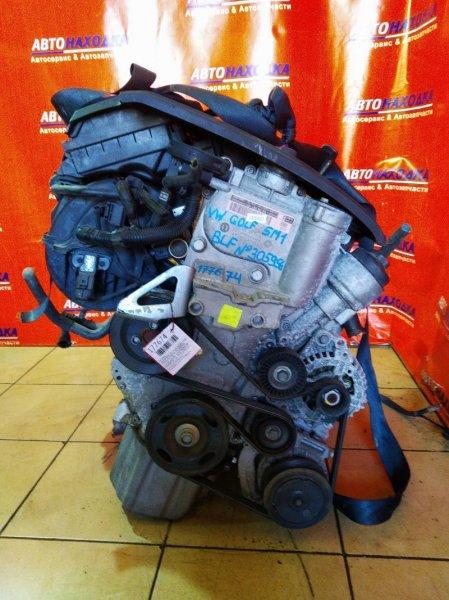 Двигатель Volkswagen Golf Plus 5M1 BLF 30.06.2006 305956 K8 118T.KM. В СБОРЕ. НОМЕР БЛОКА НАД МАХОВИКОМ. 1,6L,