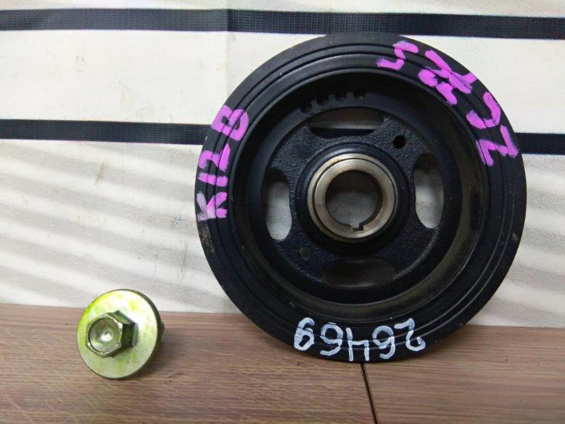 Шкив коленвала Suzuki Swift ZC72S K12B 2010 К73/ 10-15г.коленвала,со шпонкой и болтом/ОТС 9т.км
