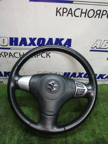 Руль Suzuki Escudo TDA4W 2008 коха, мультируль с аирбагом