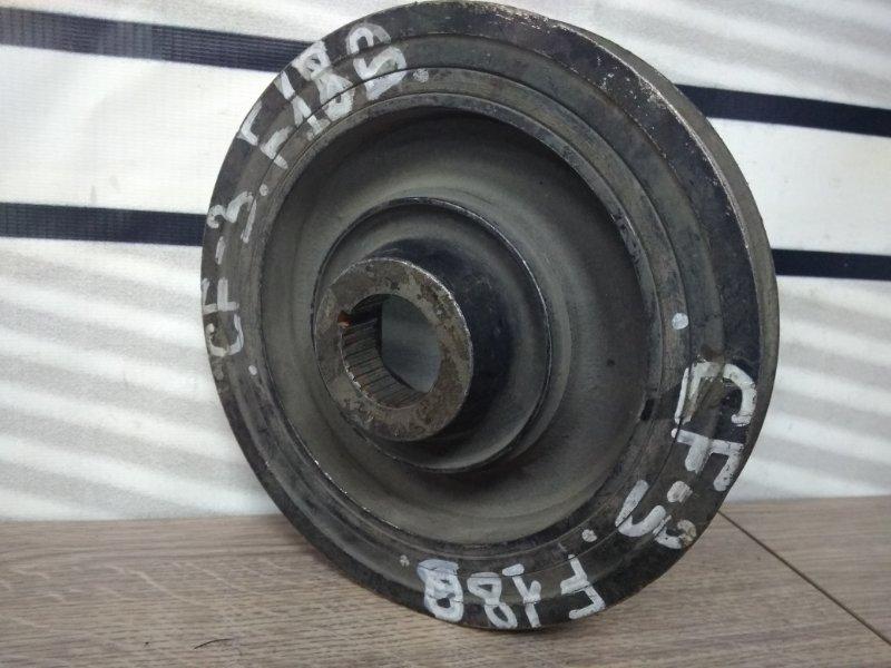 Шкив коленвала Honda Torneo CF3 F18B снят