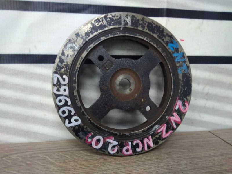 Шкив коленвала Toyota Funcargo NCP20 2NZ-FE 1211961 коленвала, снят