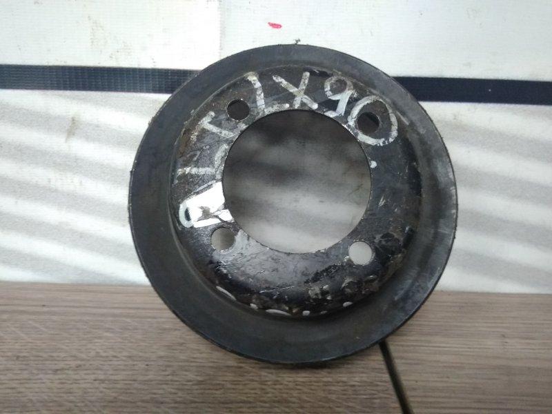 Шкив Toyota Mark Ii LX90 2L-TE на помпу (в/муфту) 1клин 4-х болтовой,