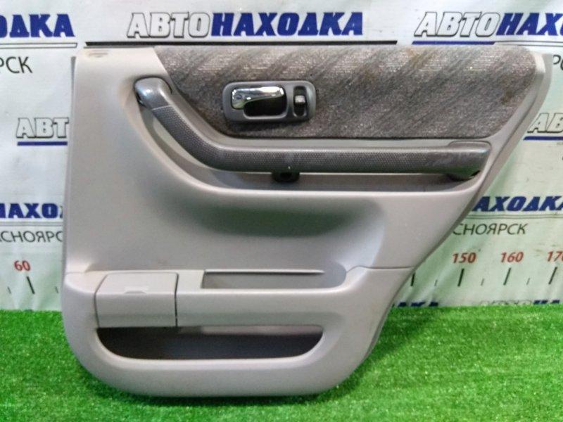 Обшивка двери Honda Cr-V RD1 B20B 1999 задняя правая задняя правая, ОТС, код салона: Type B