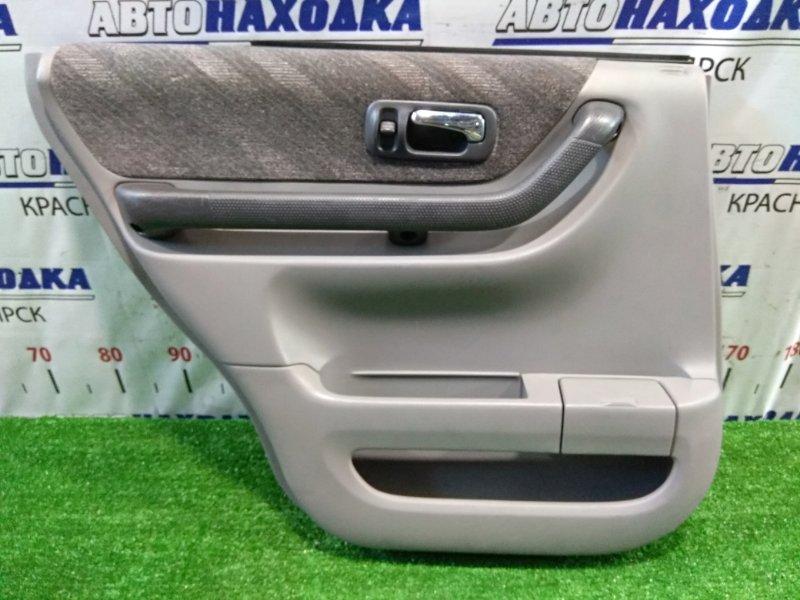 Обшивка двери Honda Cr-V RD1 B20B 1999 задняя левая задняя левая, ОТС, код салона: Type B