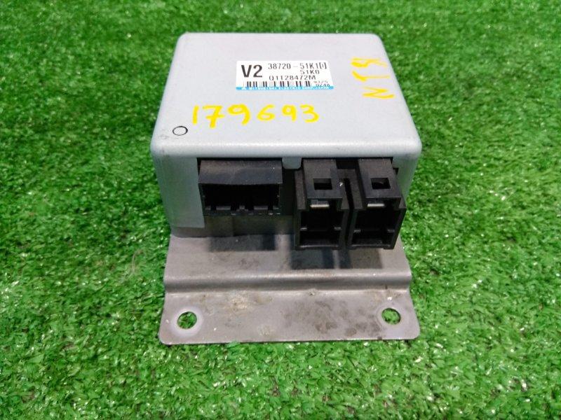 Блок управления рулевой рейкой Suzuki Splash XB32S K12B 2008 38720-51K10 блок управления рулевой
