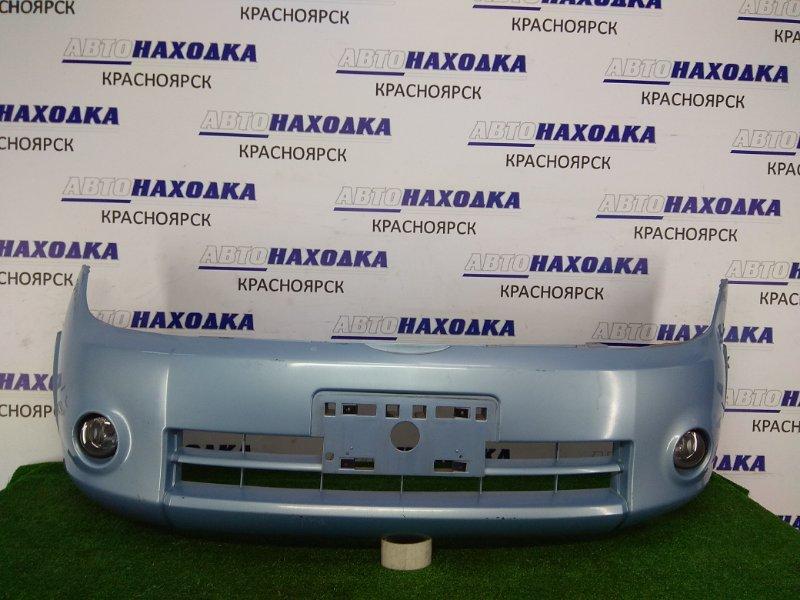 Бампер Nissan Lafesta B30 MR20DE 2004 передний 62022 EN140 Передний, голубой(B36), 1 модель, туманки(Valeo