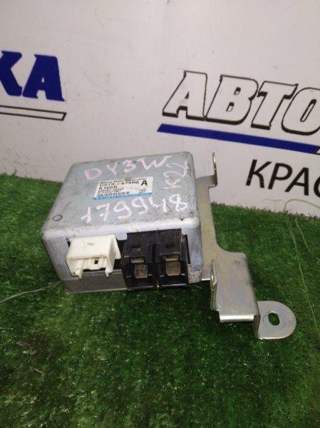 Блок управления Mazda Demio DY3W Q1T24371M1 блок управления рейки