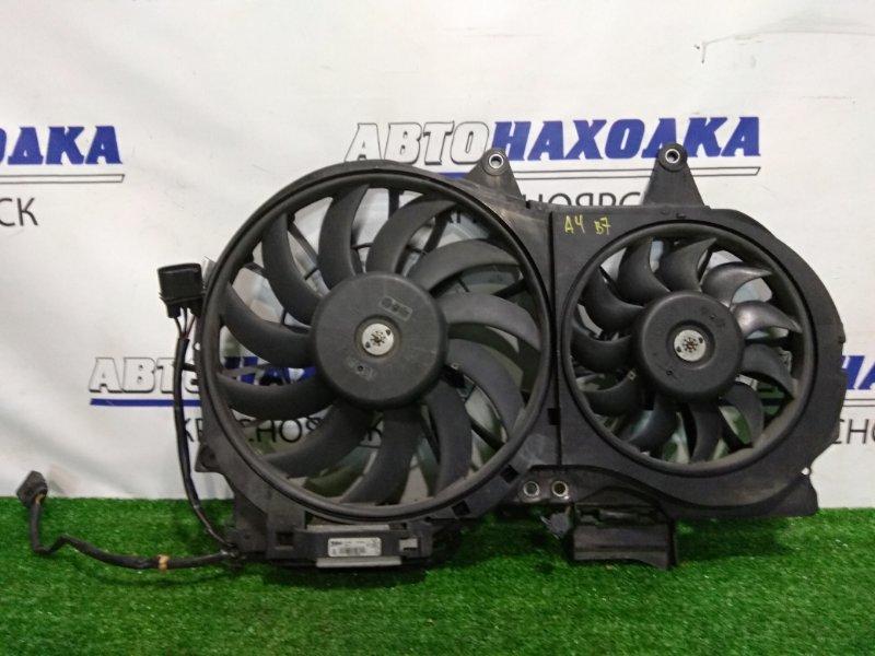 Вентилятор радиатора Audi A4 B7 BGB 2004 8E0959455K, 8E0959455N, 870669Z диффузор с двумя вентиляторами