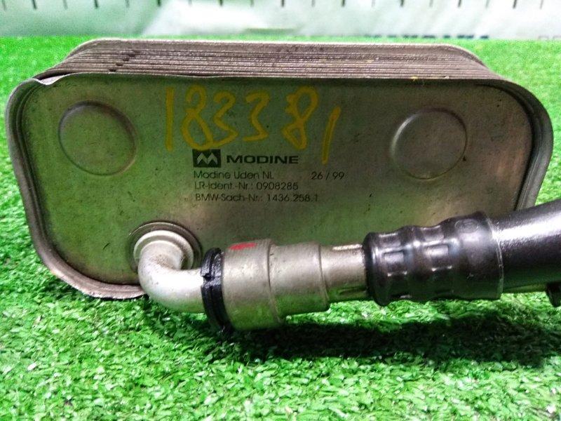 Теплообменник Bmw 318I E46 M43 B19 1998 17221436258 теплообменник с радиатора ДВС