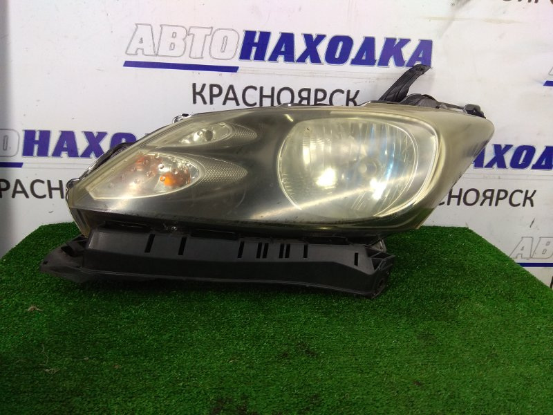 Фара Honda Freed GB3 L15A 2008 передняя левая 100-22839 Передняя левая, 100-22839, галоген, корректор, ресничка.