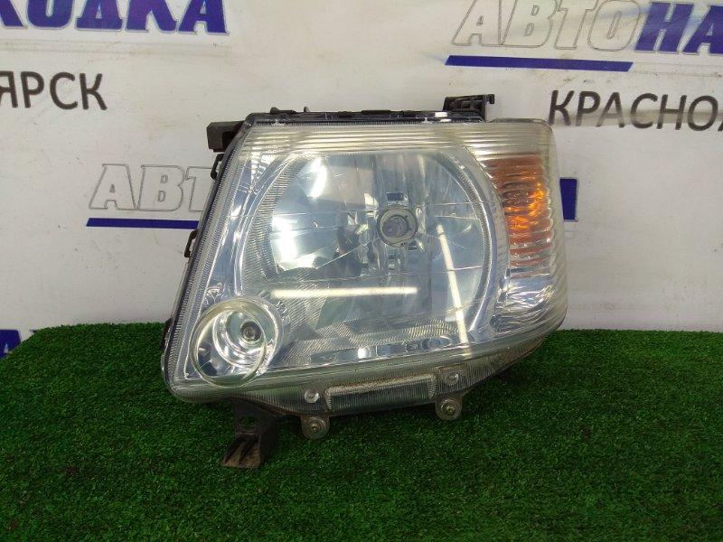 Фара Mitsubishi Ek Wagon H81W 3G83 2004 передняя левая 04C6119 Передняя левая, галоген 04C6119, ХТС.