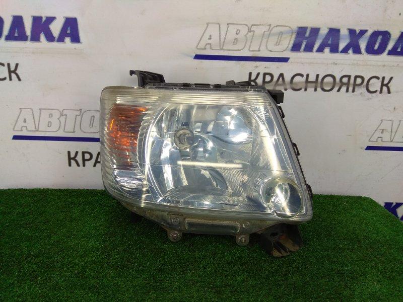 Фара Mitsubishi Ek Wagon H81W 3G83 2004 передняя правая 04C6119 Передняя правая, галоген 04C6119, ХТС.