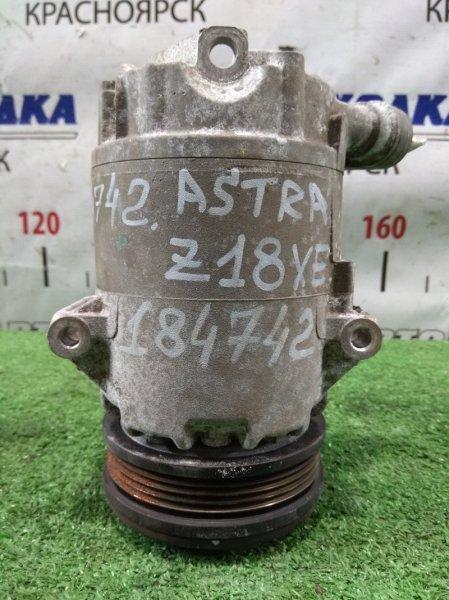 Компрессор кондиционера Opel Astra H Z18XE 2004 6854058 пробег 61 т.км.