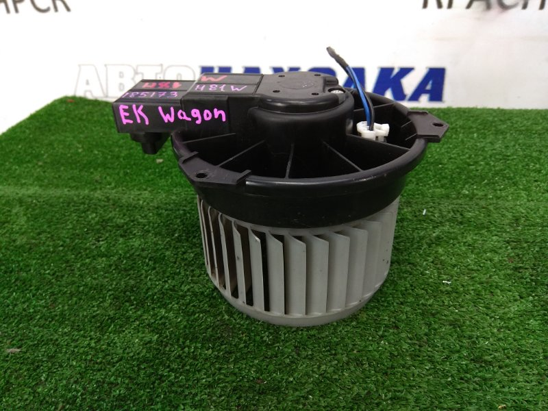 Мотор печки Mitsubishi Ek Wagon H81W 3G83 2001