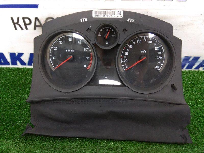 Щиток приборов Opel Astra H Z18XE 2004 SW4.405 пробег 61139 км. А/Т
