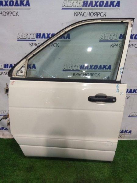 Дверь Toyota Town Ace KR42V 7K-E 1996 передняя левая FL в сборе (мех С/П), есть пара вмятинок *
