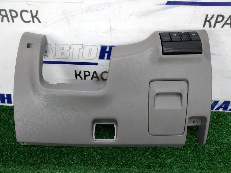 Накладка пластиковая в салон Subaru Forester SG5 EJ20 2002 облицовка под рулевую колонку, с