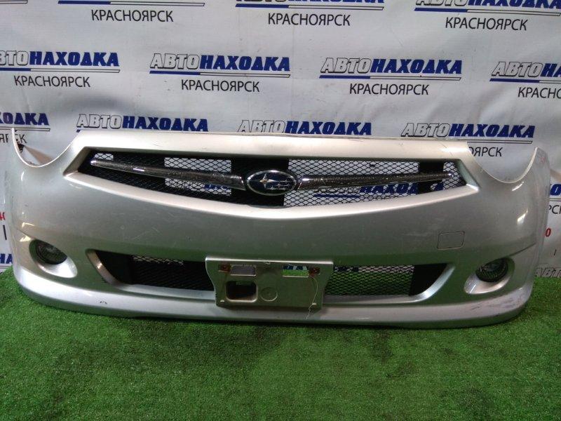 Бампер Subaru R2 RC1 EN07 2005 передний 114-77828 передний 3 мод. (второй рестайлинг) с