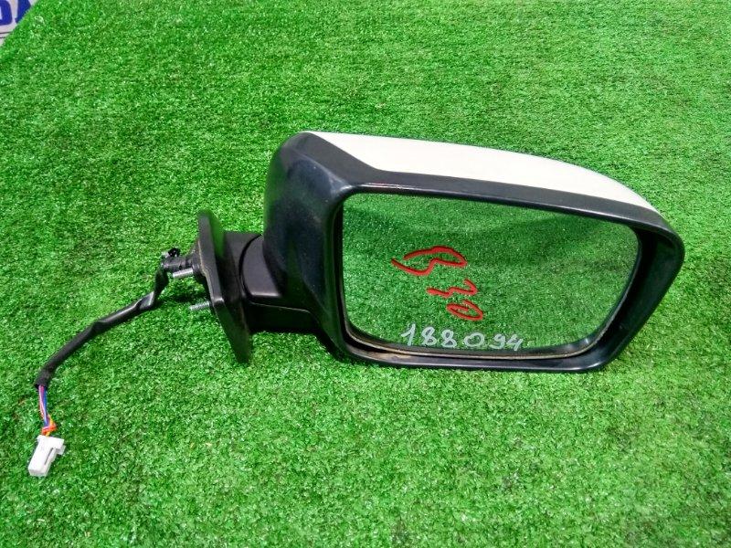 Зеркало Nissan Lafesta B30 MR20DE 2004 переднее правое правое 5 проводов