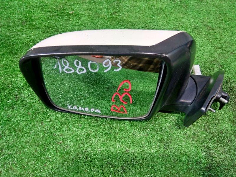 Зеркало Nissan Lafesta B30 MR20DE 2004 переднее левое левое 6 проводов + 5 проводов, с видеокамерой