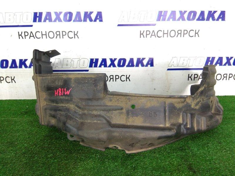 Подкрылок Mitsubishi Ek Wagon H81W 3G83 передний левый 5370A017 Передний левый, оригинальный,