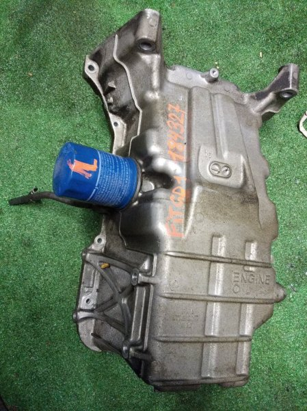 Поддон Honda Fit GD1 L13A ДВС, АЛЮМИНИЙ,