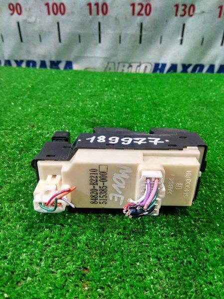 Блок управления стеклоподъемниками Daihatsu Move L175S KF-VE 2006 передний правый 84820-B2210, 515385-0000 FR