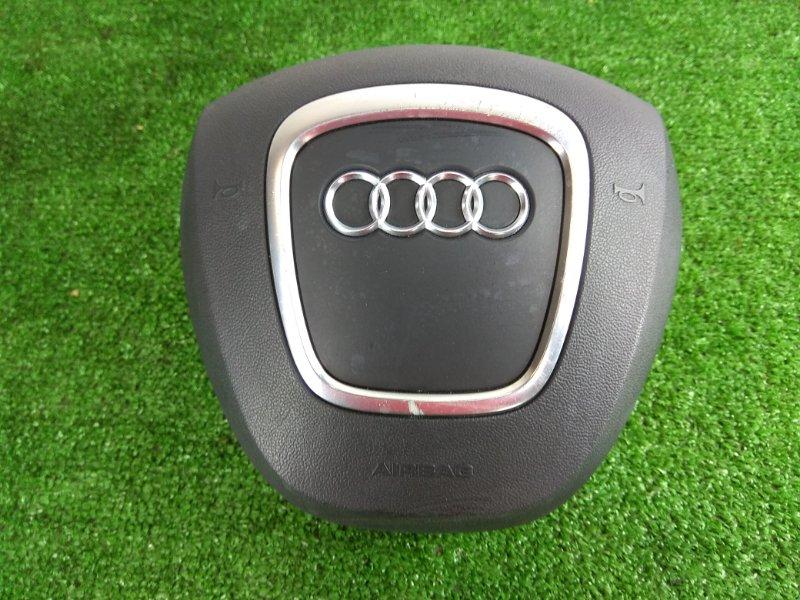 Airbag Audi A3 8P 2004 Заглушка в руль без заряда. хром потерт.