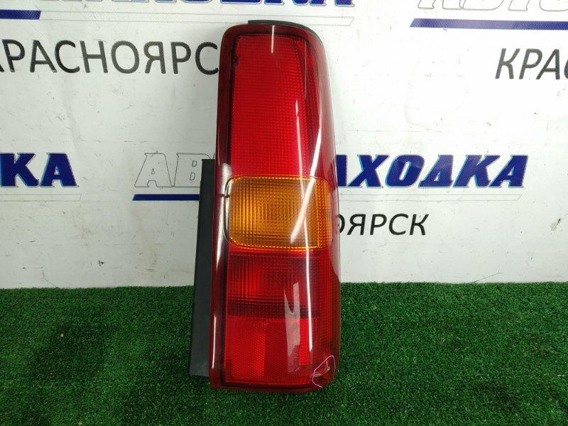 Фонарь задний Suzuki Jimny JB23W K6A 1998 задний правый 220-32081 220-32081, задний правый, желто-красный,