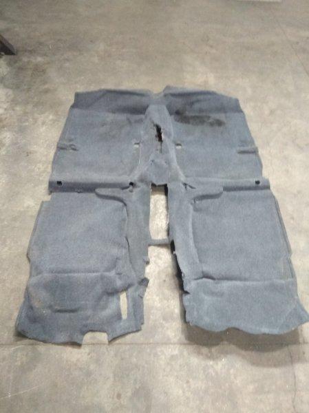 Обшивка пола Honda Civic Ferio EK3 D15B 1996 ковровое покрытие пола в салон - комплектация под
