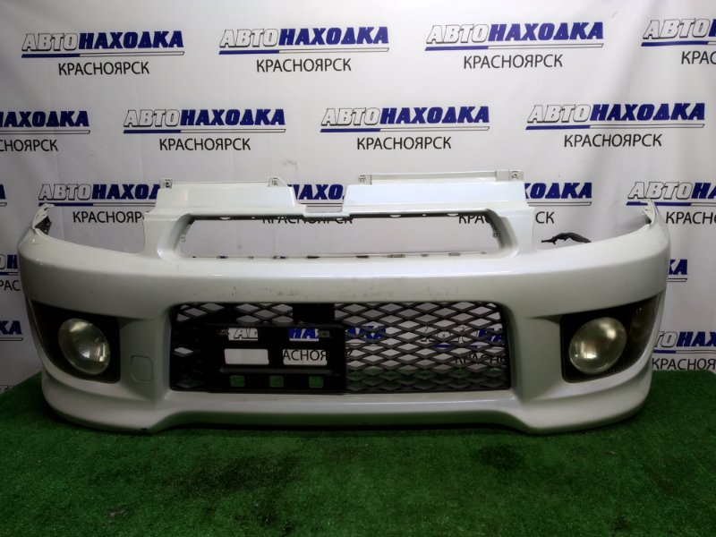 Бампер Subaru Pleo RA1 EN07 2000 передний 2мод, с туманками 114-20778, под покраску