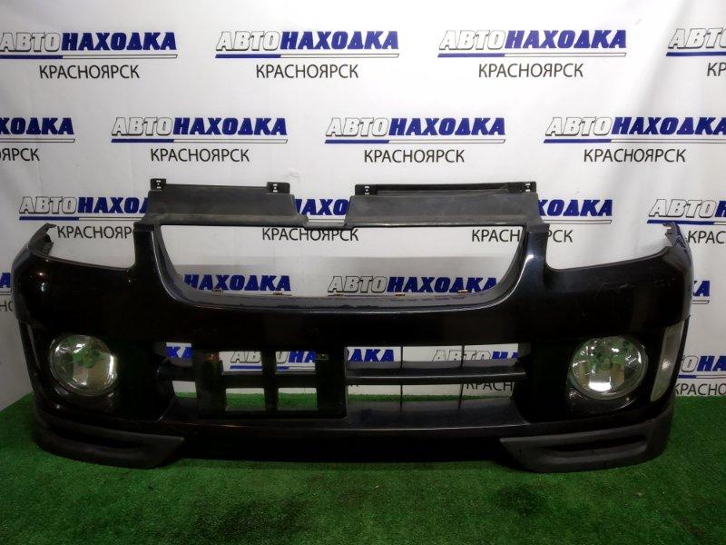 Бампер Subaru Pleo RA1 EN07 2000 передний 1мод +2 туманки114-20649, 1 поворотник L 34470, под покраску